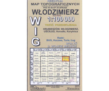 WIG 45/38 Włodzimierz (plansza) reedycja z 1939 r.