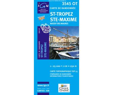 IGN 3545OT St-Tropez, Ste-Maxime