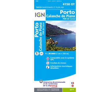 IGN 4150 OT Porto Calanche de Piana PNR de Corse