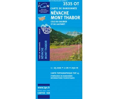 IGN 3535OT Nevache, Mont Thabor