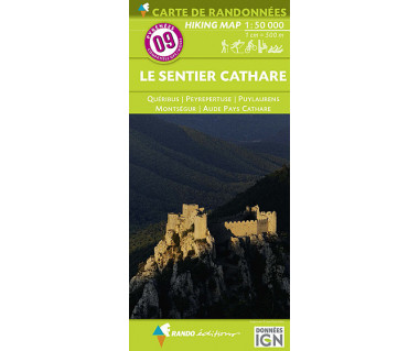 IGN 50 Pyrenees (9) Le Sentier Cathare