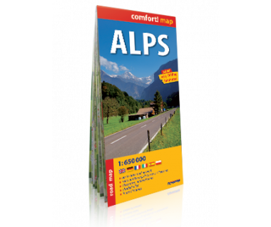 Alps mapa laminowana