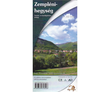 Zempleni-hegyseg - Mapa