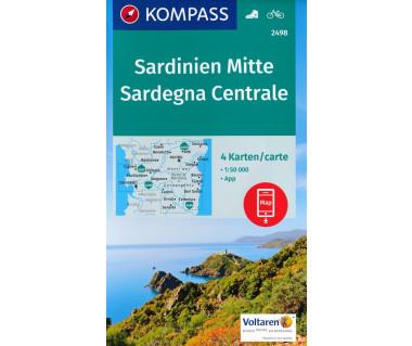 K 2498 Sardegna Centrale (4 mapy kpl.)