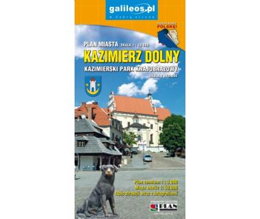 Kazimierz Dolny/Kazimierski Park Krajobrazowy - Mapa