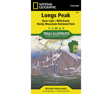 301 :: Longs Peak: Rocky Mountain National Park [Bear Lake, Wild Basin]