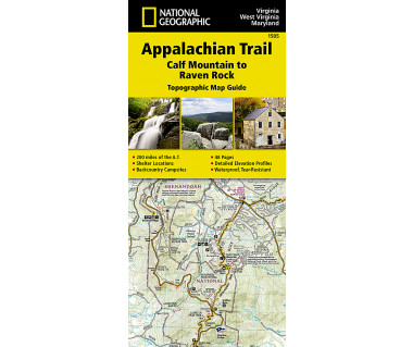 1505 :: Appalachian Trail, Calf Mountain to Raven Rock [Virginia, West Virginia, Maryland]