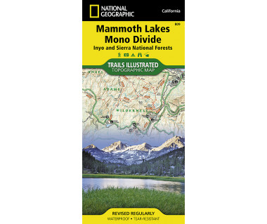 809 :: Mammoth Lakes, Mono Divide [Inyo and Sierra National Forests]