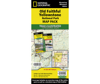 Old Faithful, Yellowstone [Map Pack Bundle]