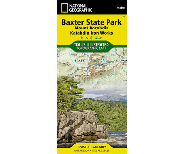 754 :: Baxter State Park [Mount Katahdin, Katahdin Iron Works]