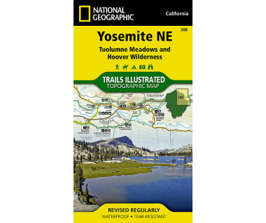 308 :: Yosemite NE: Tuolumne Meadows and Hoover Wilderness