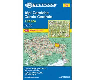 TAB09 Alpi Carniche,Carina Centrale