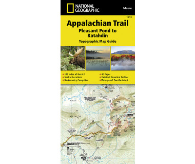 1513 :: Appalachian Trail, Pleasant Pond to Katahdin [Maine]