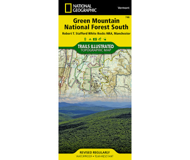 748 :: Green Mountain National Forest South [Robert T. Stafford White Rocks National Recreation Area, Manchester]