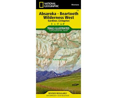 721 :: Absaroka-Beartooth Wilderness West [Gardiner, Livingston]