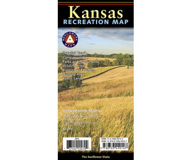 Kansas Recreation Map