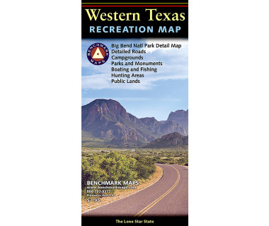 Western Texas Recreation Map
