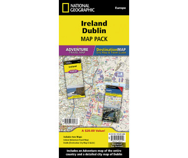 Ireland, Dublin [Map Pack Bundle]