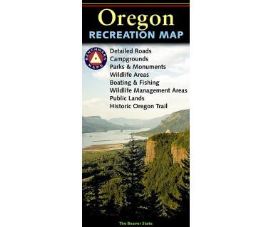 Oregon Recreation Map