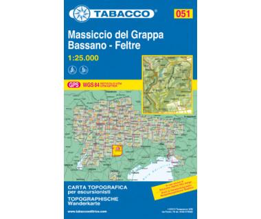 TAB051 Monte Grappa, Bassano, Feltre