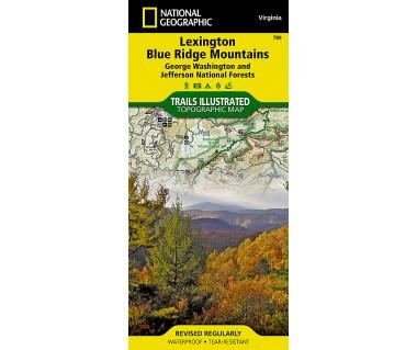 789 :: Lexington, Blue Ridge Mts [George Washington and Jefferson National Forests]