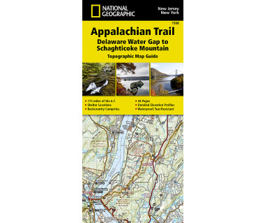 1508 :: Appalachian Trail, Delaware Water Gap to Schaghticoke Mountain [New Jersey, New York]