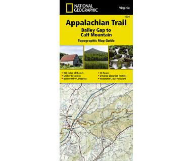 1504 :: Appalachian Trail, Bailey Gap to Calf Mountain [Virginia]