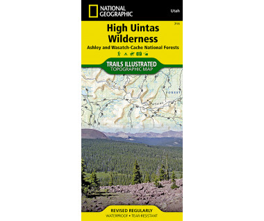 711 :: High Uintas Wilderness [Ashley and Wasatch-Cache National Forests]