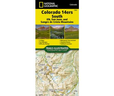 1303 :: Colorado 14ers South [San Juan, Elk, and Sangre de Cristo Mountains]