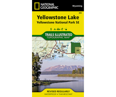 305 :: Yellowstone Lake: Yellowstone National Park SE