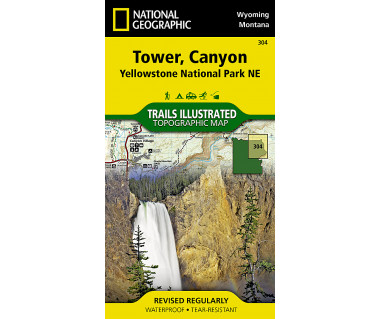 304 :: Tower, Canyon: Yellowstone National Park NE