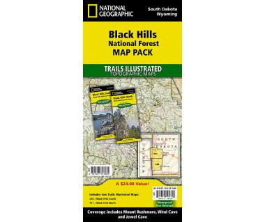 Black Hills National Forest [Map Pack Bundle]