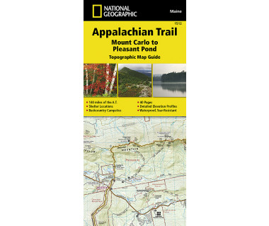 1512 :: Appalachian Trail, Mount Carlo to Pleasant Pond [Maine]