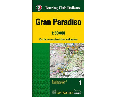 Gran Paradiso Map&Guide