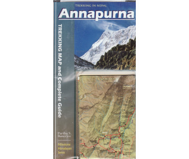 Annapurna. Trekking map and complete guide