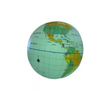 Globe political 40cm (globus dmuchany)