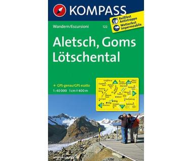 K 122 Aletsch, Goms, Lotschental (folia)