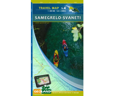 Georgia travel map (4) Samegrelo-Svaneti