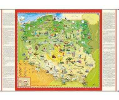 Polska mapa młodego odkrywcy