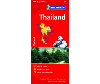 Thailand (M 751) - Mapa