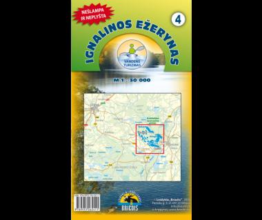 Ignalinos Ezerynas mapa kajakowa wodoodporna (4)