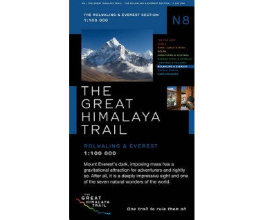 Rolwaling & Everest (The Great Himalaya Trail) - Mapa