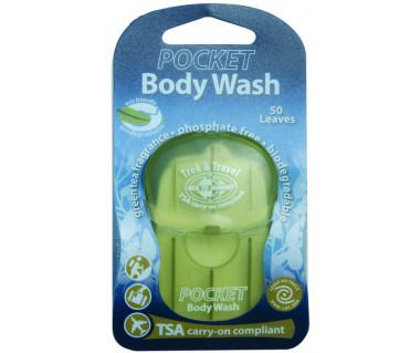 Mydło kieszonkowe do ciała Pocket Body Wash 50 listków