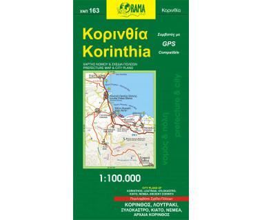 Corinthia - Mapa