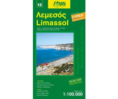 Limassol - Mapa