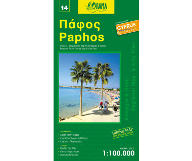 Paphos - Mapa