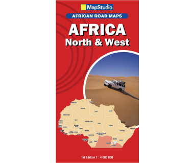 Africa North & West - Mapa