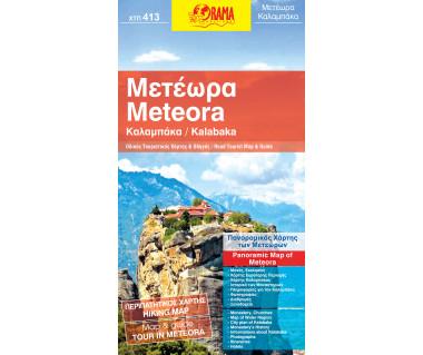 Kalabaka / Meteora - Mapa