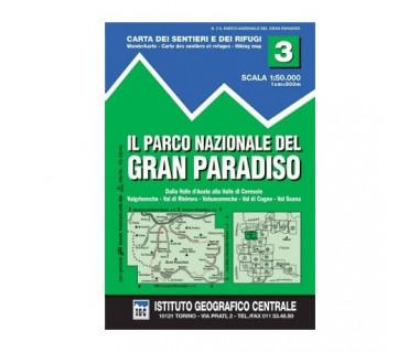 IGC50 03 Il Parco Nazionale del Gran Paradiso - Mapa turystyczna