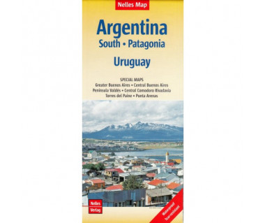 Argentina South, Patagonia, Uruguay